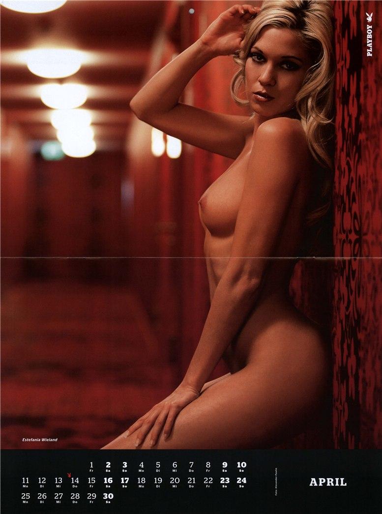 календарь Playboy Germany Playmate Calendar 2011 - Estefania Wieland
