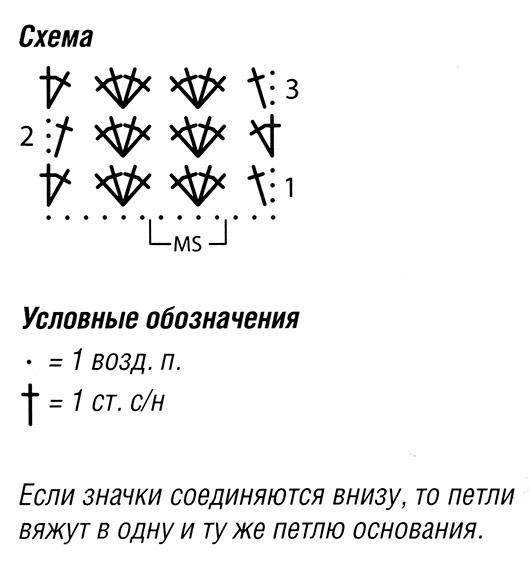 Чёрно-белый комплект схема