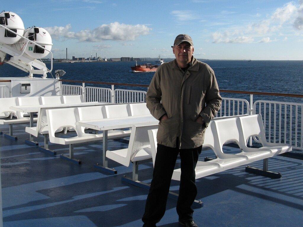 Helsingor-Helsingborg ferry, Øresund strait