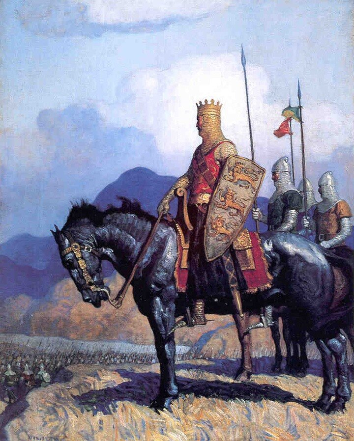 Richard the Lionheart by NC Wyeth