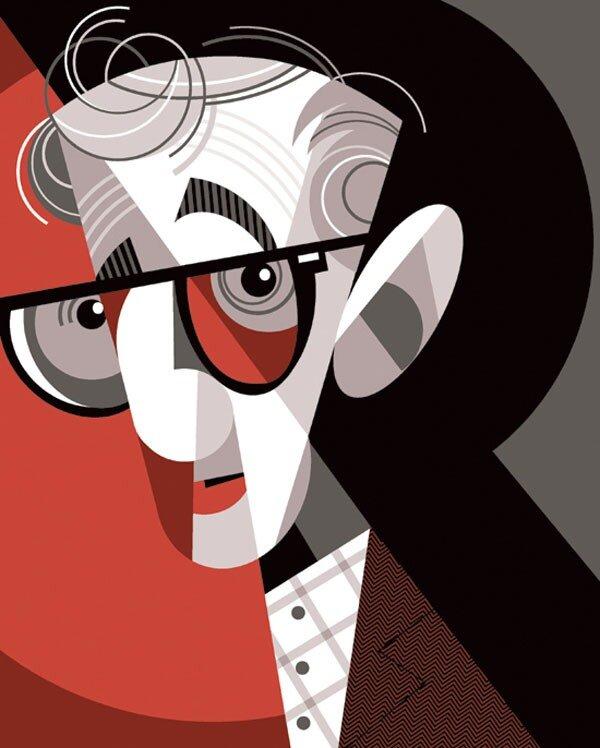 Woody Allen by Pablo Lobato