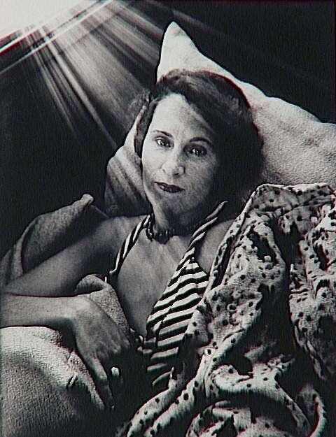 Brassaï.Portrait de Gala, 1933