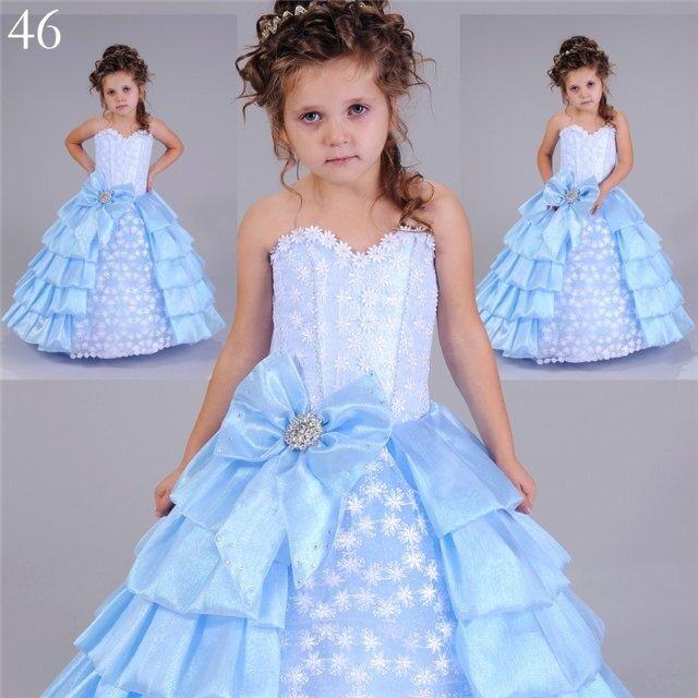 как сшить платье для девочки, как сшить детское платье.