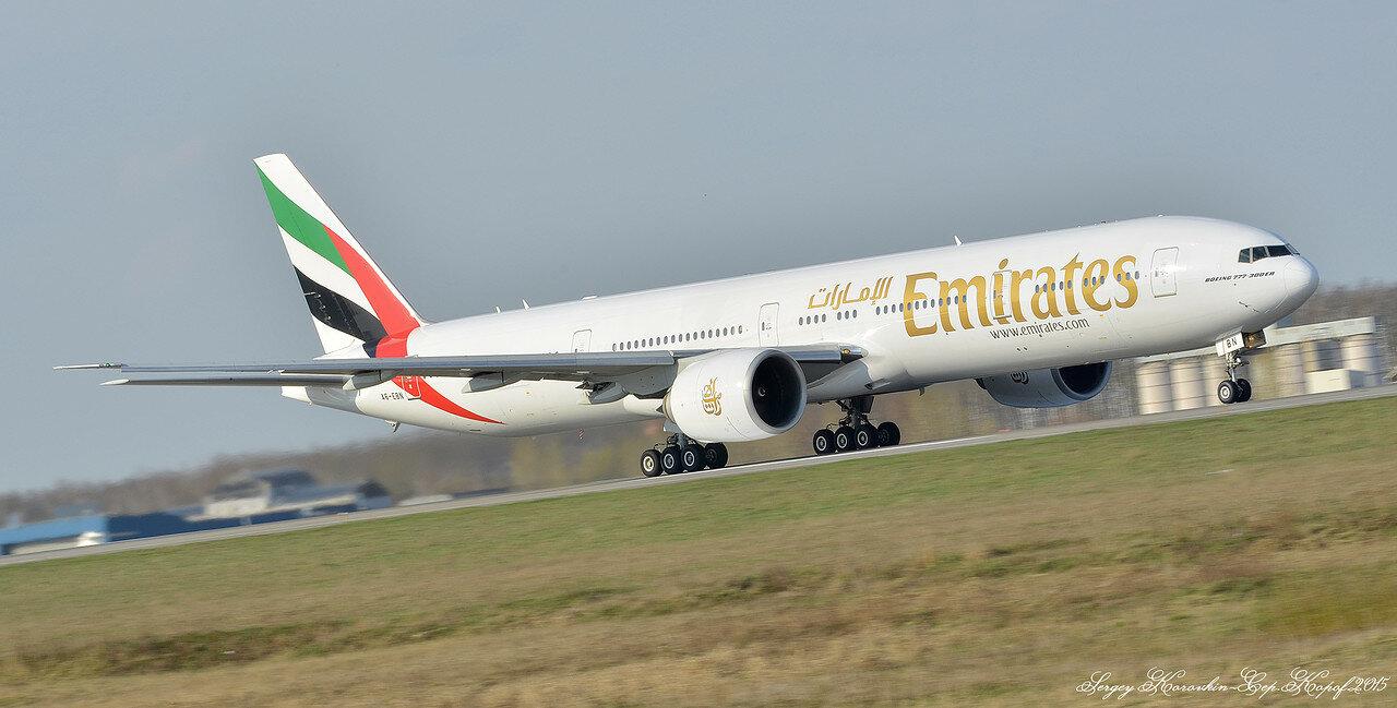 A6-EBN Boeing 777-36N(ER) Emirates
