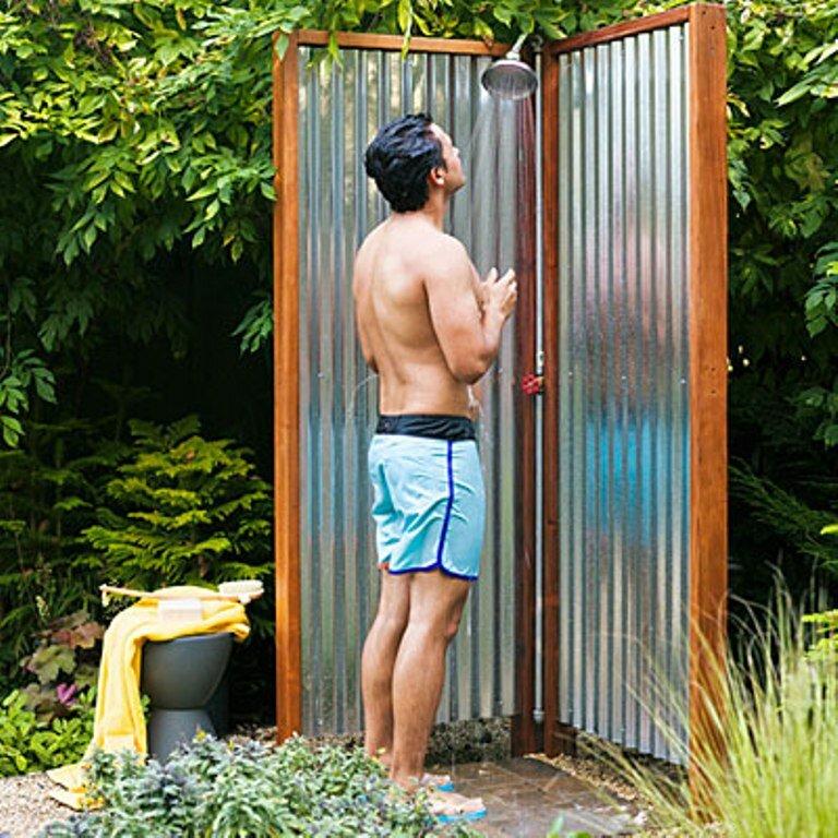 примитивный кустарный душ фото вы, что
