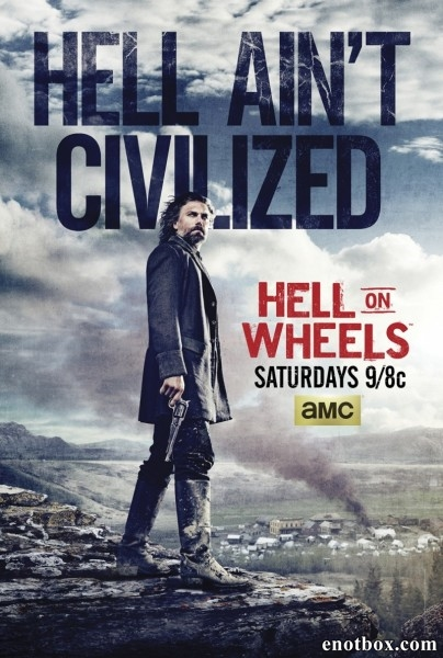 Ад на колёсах / Hell on Wheels - Полный 5 сезон [2015, WEB-DLRip | WEB-DL 1080p] (LostFilm)