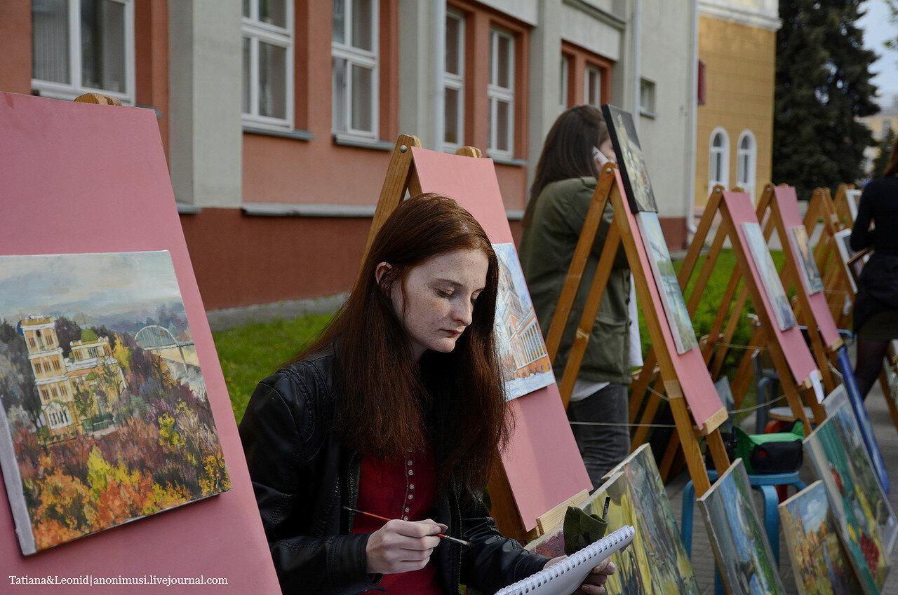 Ночь музеев 2015 в картинной галерее Г.Х.Ващенко. Гомель