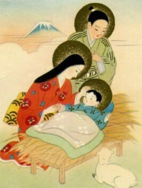 Православные иконы, созданные в Японии