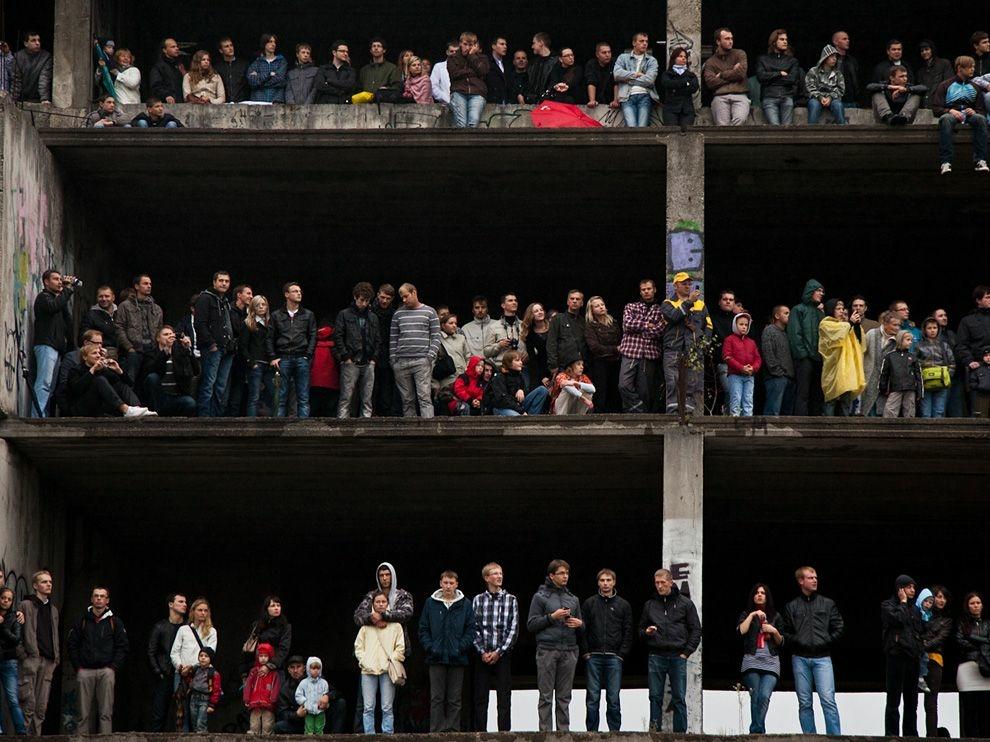 Зрители на формуле 1 в Литве