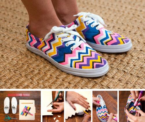 Новая жизнь старой обуви