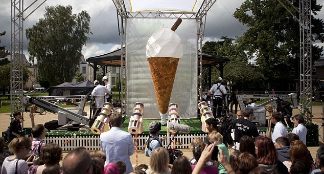 Найбільше морозиво в світі