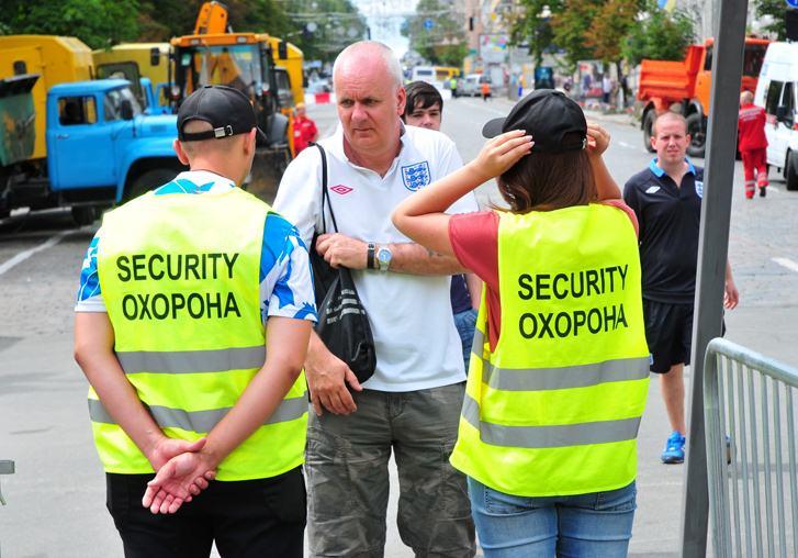 Киевская фан-зона Евро-2012 перед концертом Элтона Джона и группы Queen