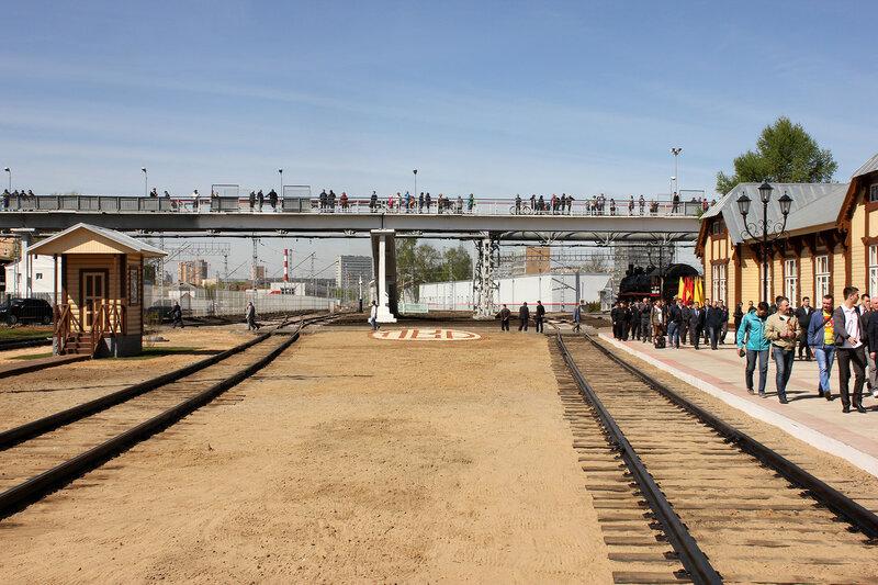 Мост в депо Подмосковная