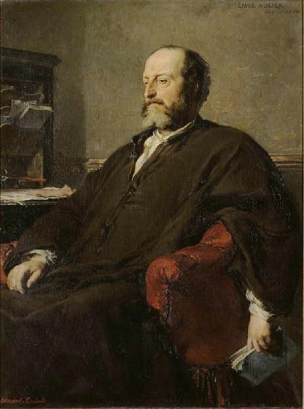 Гийом Виктор Эмиль Ожье-(1820-1889), кинорежиссёр драматической,: Новичок De L'Французской академии