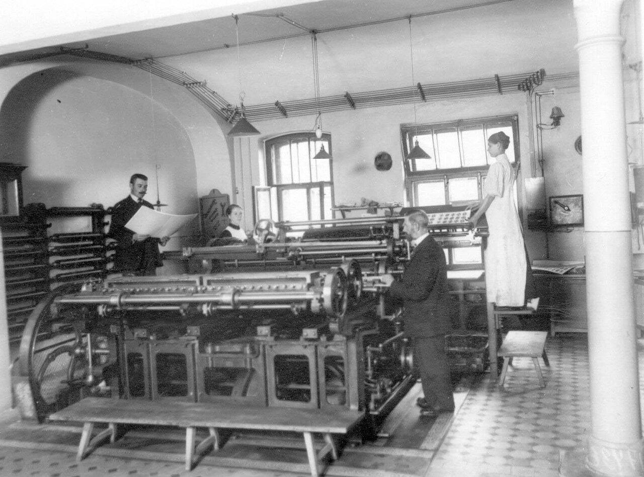 07. Вид части фабричного цеха.  1913