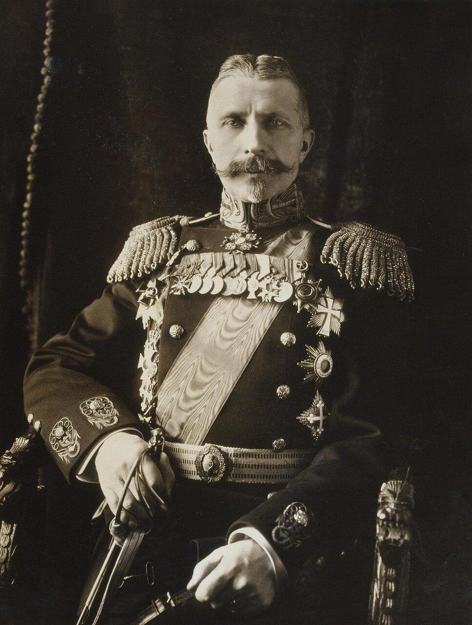 Портрет адмирала Александра Ивановича Русина. 1913