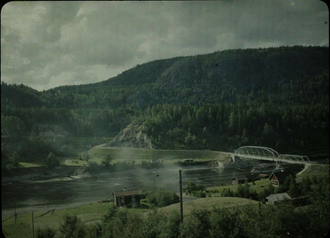 1913. Вид на долину, Скандинавия