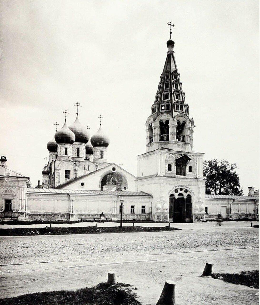 438. Окрестности Москвы. Церковь в селе Бутырках