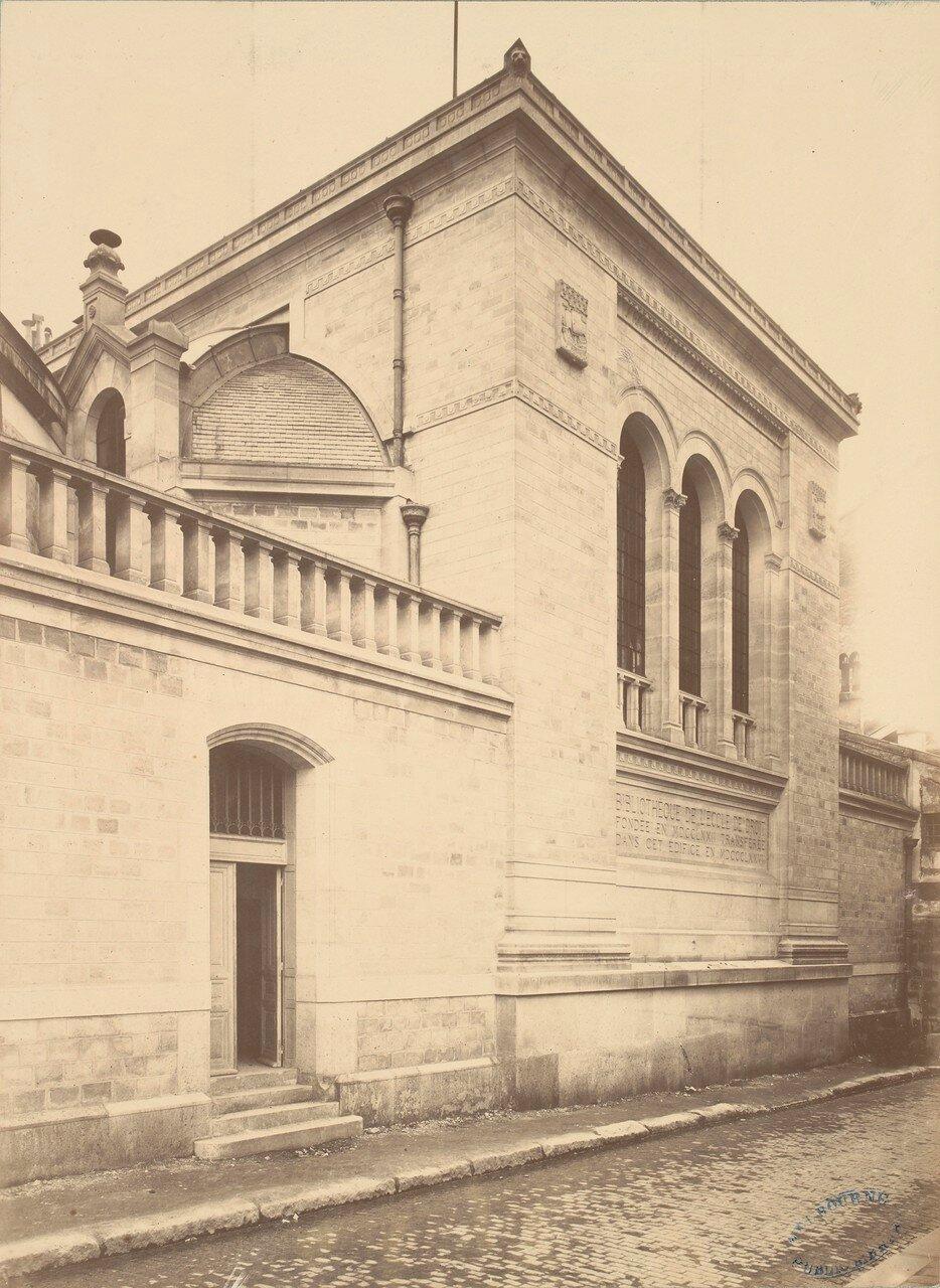 1877. Библиотека Юридической Школы Сорбонны