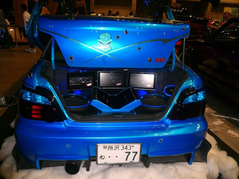 Японский тюнинг. NEXT -  AUTO SHOW. (часть 1)