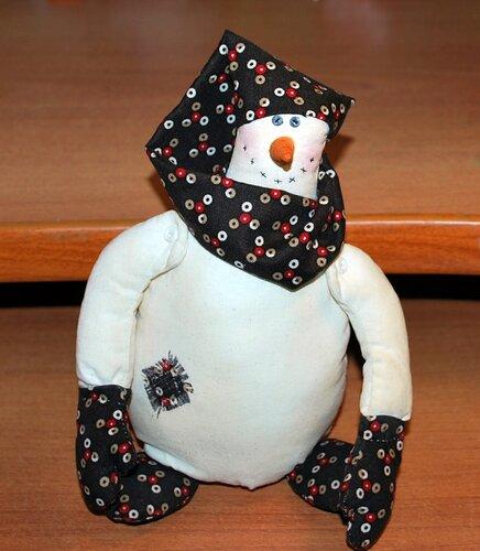 Примитив-снеговик