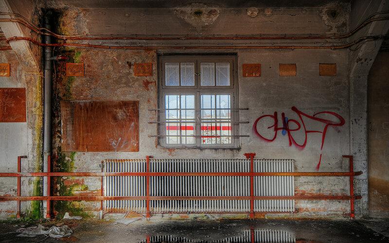 Одна hdr-фотосессия для ин- и экстерьеров брошенных территорий. 43 урбана