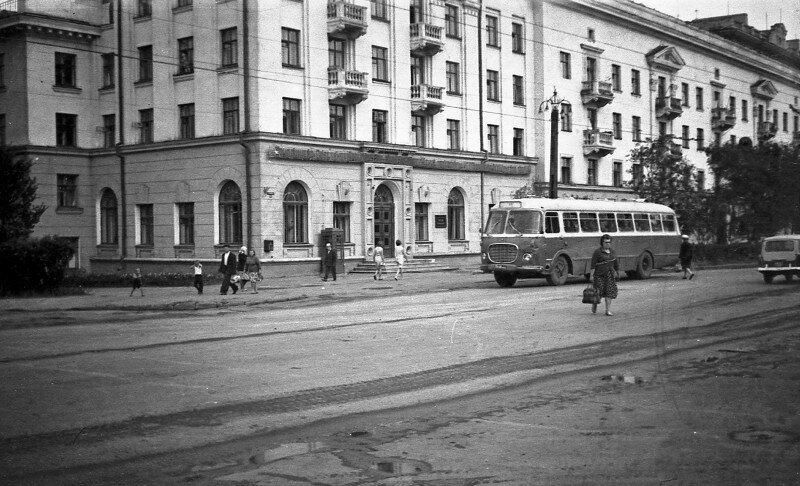 Челябинск. Ул. Свободы. 1965 год.
