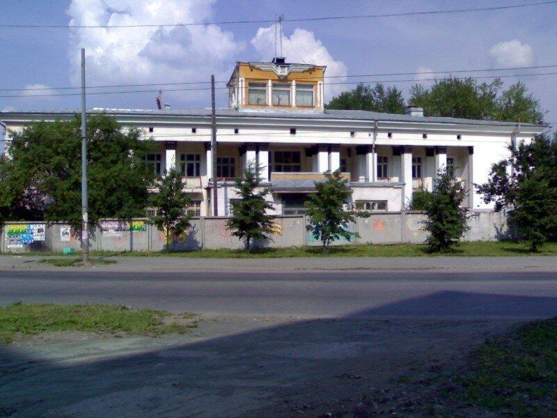 Старый аэровокзал УктусСтарый аэровокзал Уктус