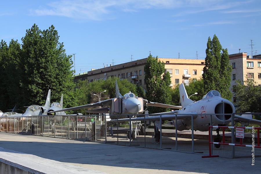 Экспозиция техники «Самолеты — послевоенный период»