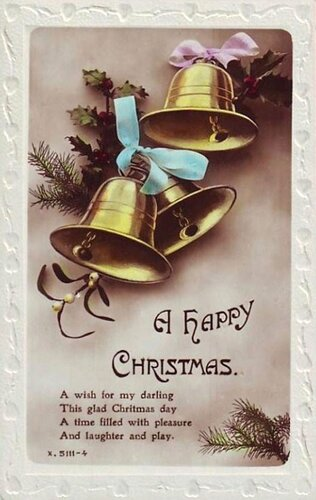 С Рождеством Христовым ! Колокольчики.