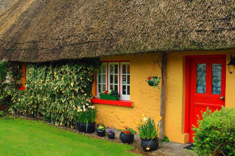 портерс: интересные дома в ирландии