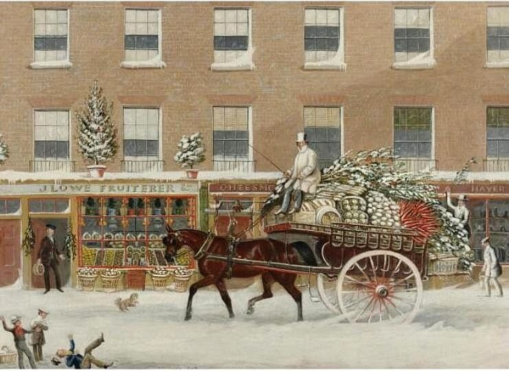 James Pollard. Christmas in Bowman's Place.