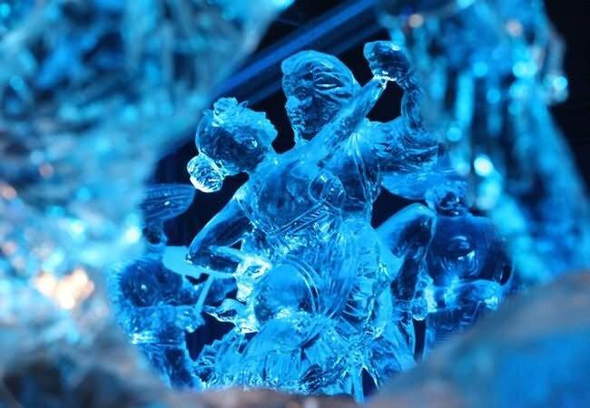 скульптуры ледовые