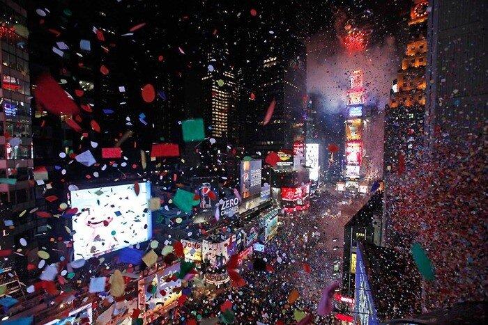 как отмечают новый год