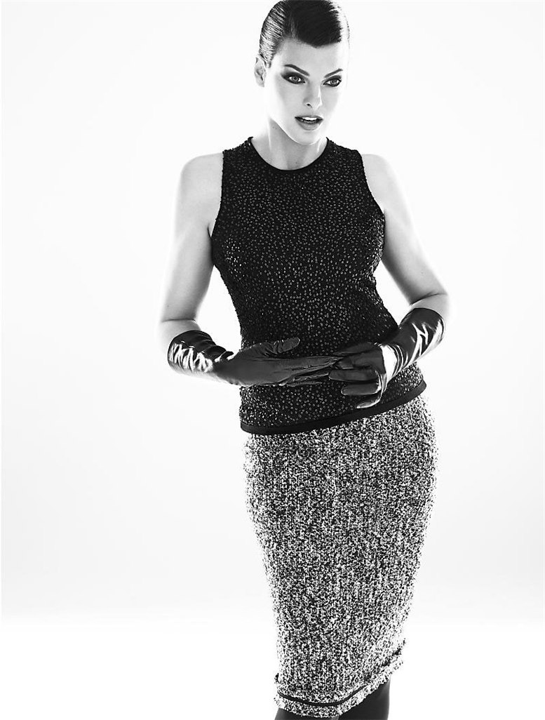 модель Linda Evangelista / Линда Евангелиста, фотографы Mert and Marcus
