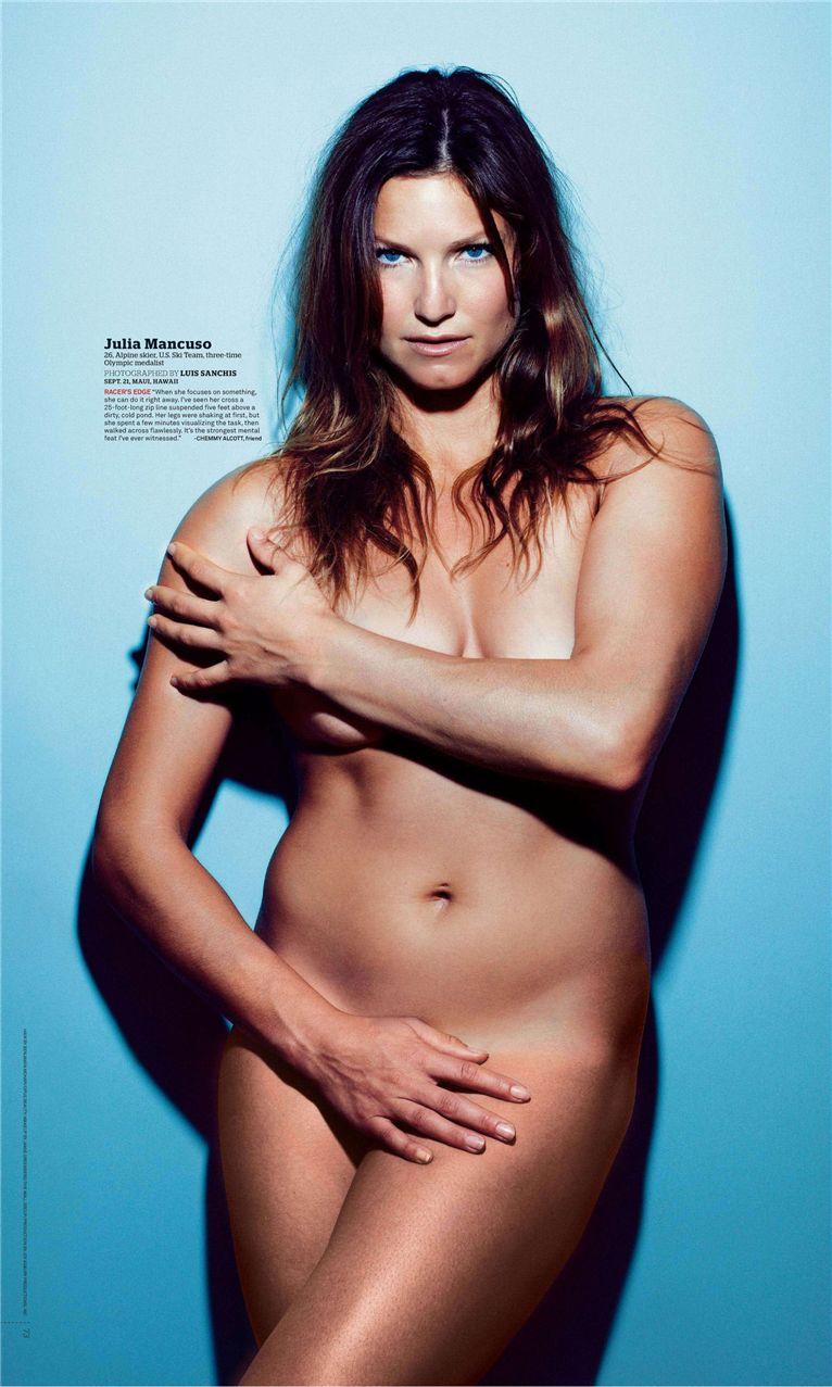 Джулия Манкузо / Julia Mancuso - ESPN Magazine Body Issue 18 october 2010