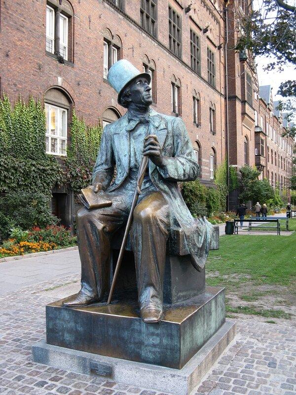 Памятник Хансу Кристиану Андерсену, Копенгаген