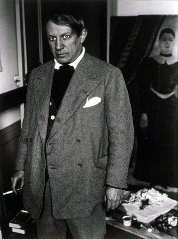 Pablo Picasso, 1932 by Brassai