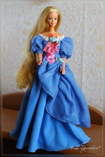 Floruna. и из новеньких Barbie Wedding Fantasy 1989 (платье тоже Ирина сшила похожее на оригинал).