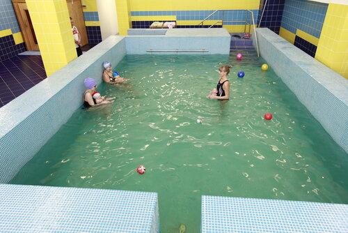 Бассейны с минеральной водой для беременных