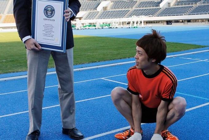 Самые невероятные спортивные достижения Книги Гиннесса