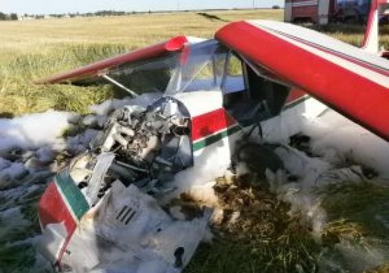 В Могилевской области разбился самолет