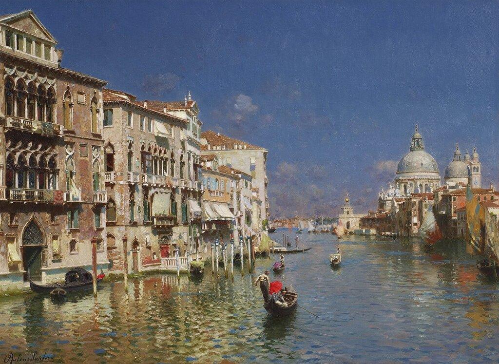 Rubens Santoro - The Grand Canal, Venice - 28564-20.jpg