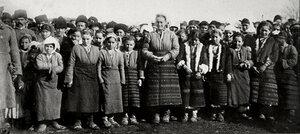Деца от село Горно Абланово (Яли Абланово), Русенско, 1878 г