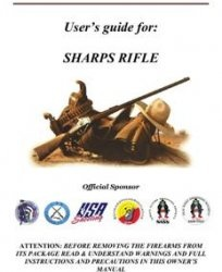 Книга User's Guide: 1859 SHARPS CAVALRY .54 22 bbl single trigger, patchbox