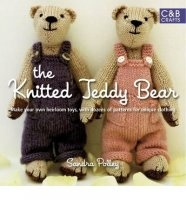 Книга The Knitted Teddy Bear by  Sandra Polley jpg 15,1Мб