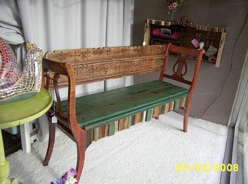 Поделки из стульев