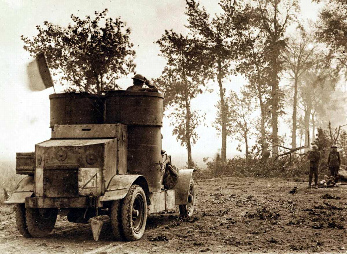 Бронеавтомобиль австралийской армии (1915 год)