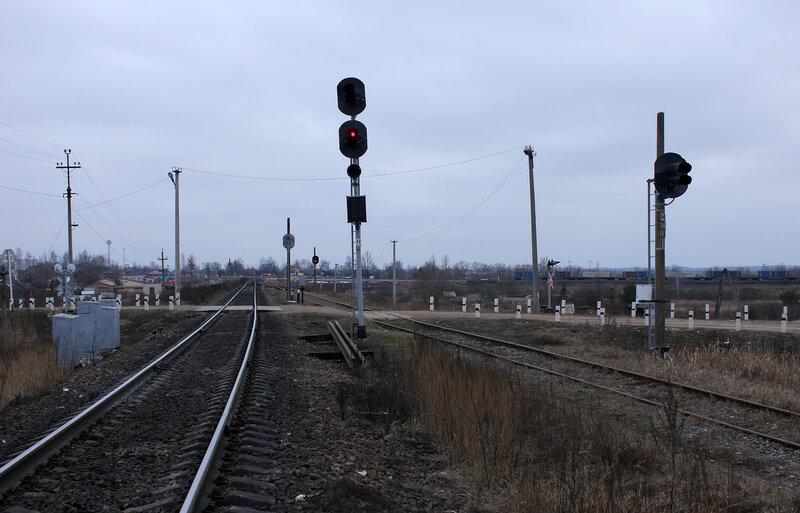 Входной НШ со стороны Шубино на Новосокольники