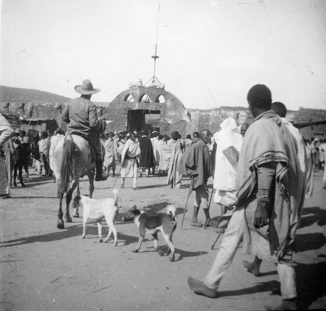 1897. Абиссиния. Железные ворота в Хараре